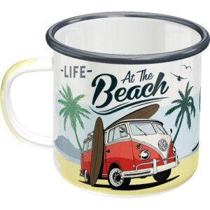 "VW Kleinbus ""At The Beach"" emalimuki"